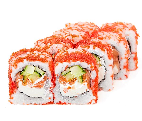 Масаго с лососем