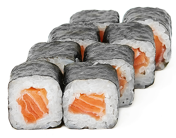 Подарочный Хосомаки со свежим лососем